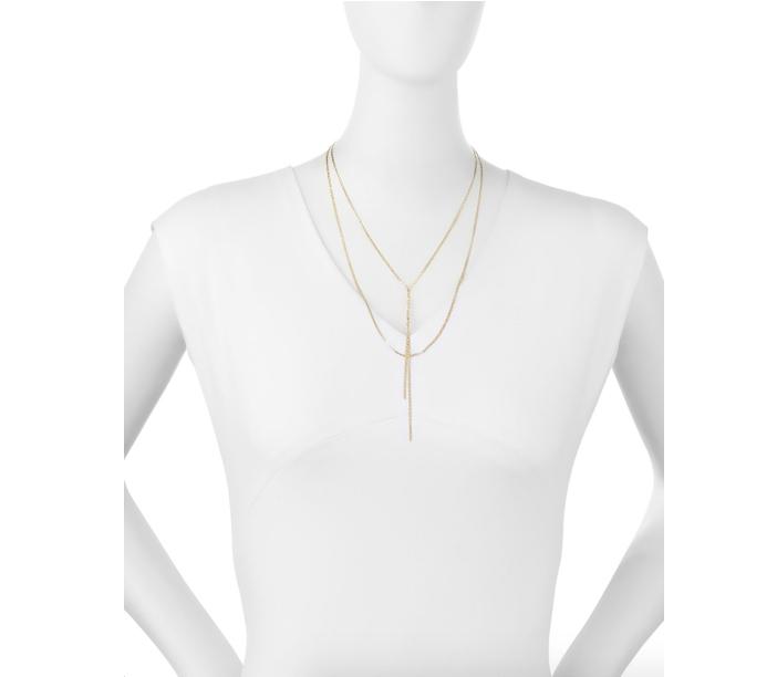 Lana 14K Elite Blake Layered Necklace 2