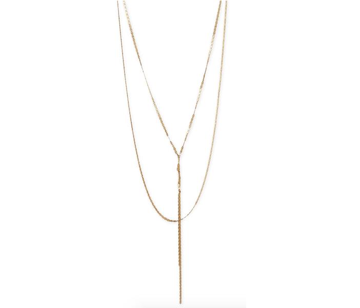 Lana 14K Elite Blake Layered Necklace