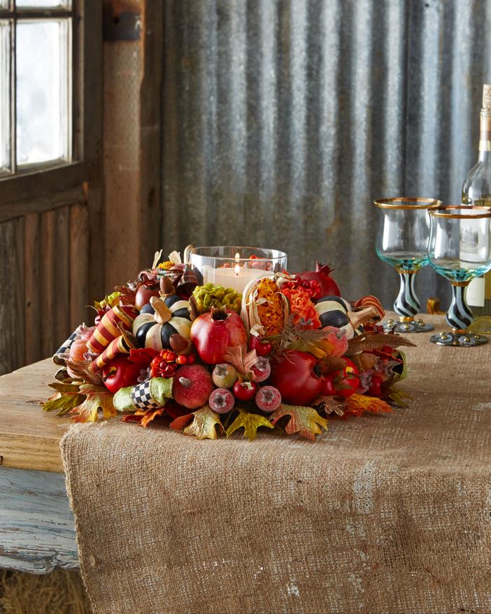 mackenzie-childs-autumn-harvest-candle-centerpiece