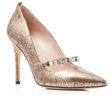 SJP by Sarah Jessica Parker Attire Metallic Snake-Embossed Pointed Toe High Heel Pumps 4
