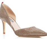 Shoe of the Day: SJP by Sarah Jessica Parker Phantom Metallic d'Orsay Pumps