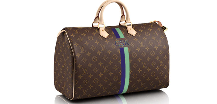 Personalize Your Louis Vuitton with the Speedy 40 Mon Monogram