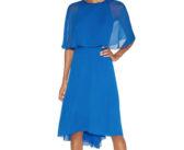 Halston Heritage Cape Dress