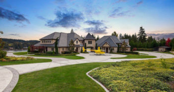 Estate of the Day: $10.5 Million Wollochet Bay French Chateau in Gig Harbor, Washington