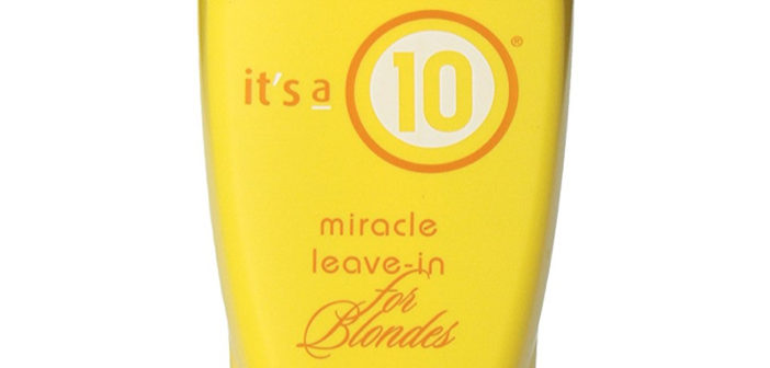 It's a 10 Blonde Miracle Leave in Treatment