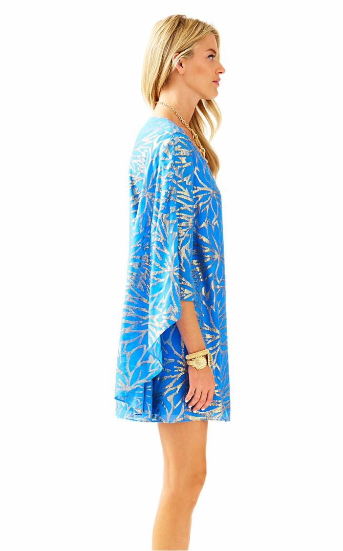 Lilly Pulitzer Miri Silk Caftan Dress