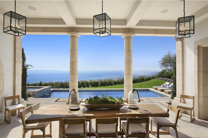 Stunning California Beach House Inspired By The Horizon: Estate Of The Day: $20 Million Mediterranean Style Estate