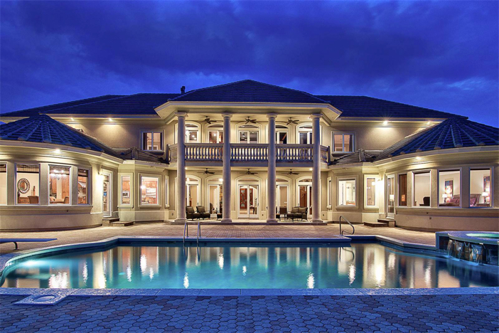 Estate of the day 3 4 million waterfront neoclassical for Florida estates for sale