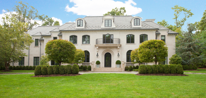 Estate of the Day: $9.8 Million Gracious Colonial Manor in Alpine, New Jersey