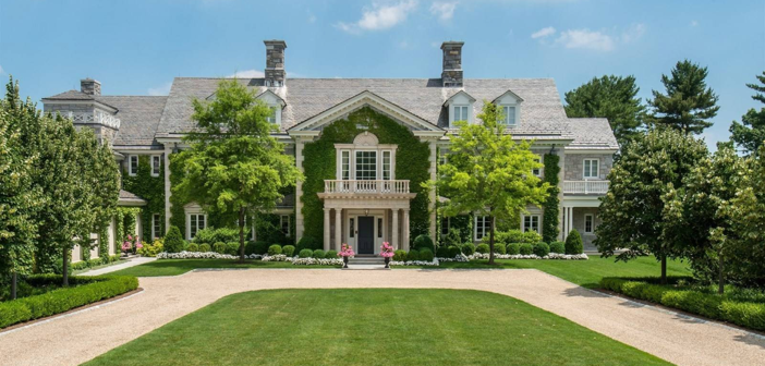 Estate of the Day: $29.5 Million Stone Georgian Mansion in Greenwich, Connecticut