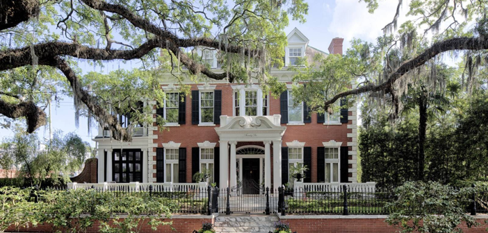 Estate of the Day: $6.7 Million Historic Mills B. Lane House in Savannah, Georgia
