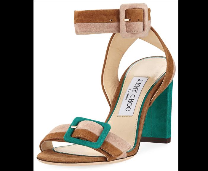 Shoe Of The Day Jimmy Choo Dacha Block Heel Suede