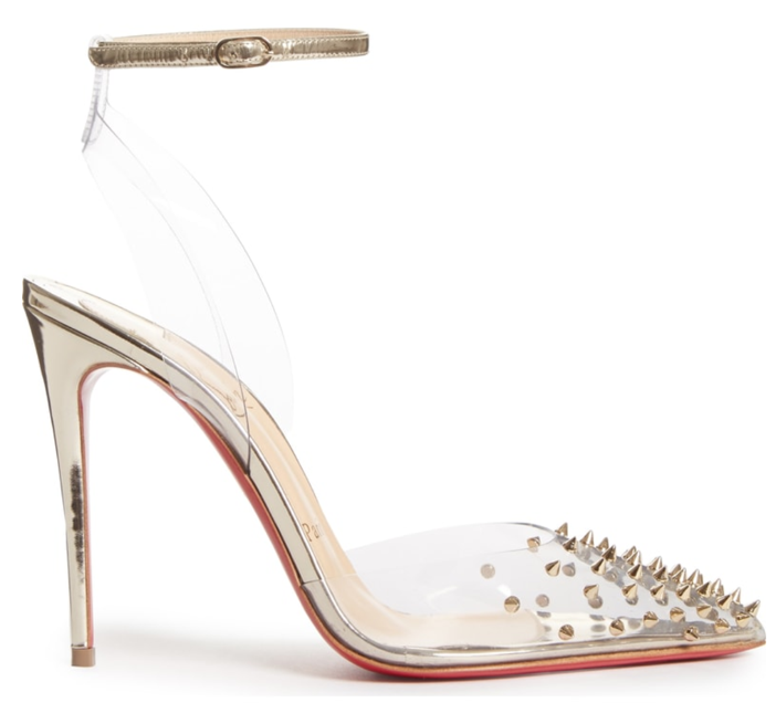 huge discount aa79a 37486 Shoe of the Day: Christian Louboutin Spikoo Spiked Ankle ...