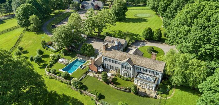 Estate of the Day: $6.7 Million Historic Equestrian Farmhouse in Ridgefield, Connecticut