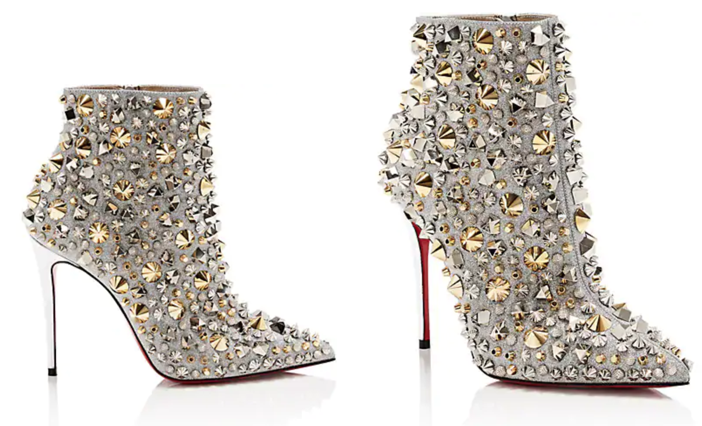 526d68b1d1c7 Shoe of the Day  Christian Louboutin So Full Kate Glitter Ankle Boots