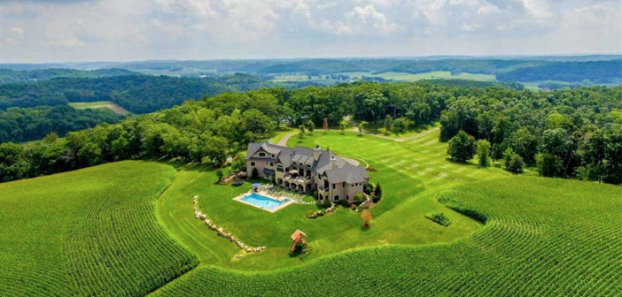 Estate of the Day: $4.5 Million Private Country Mansion in Wisconsin