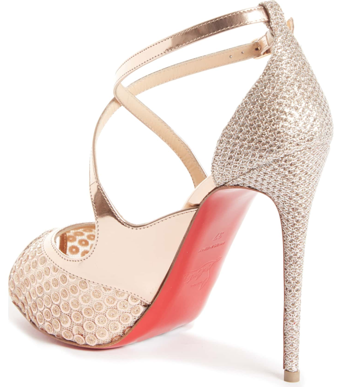 new product d6d52 d43e7 Shoe of the Day: Christian Louboutin Mirabella Strappy ...