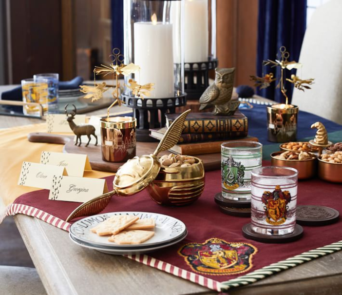 Get Ready To Host A Fun Dinner Party With Only Good Vibes When You Add  These Sweet Pieces Of Harry Potter Decor. Expecto Patronum!