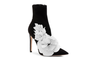 28ffae74b2d Shoe of the Day  Sophia Webster Jumbo Lilico Floral Appliqué Suede Ankle  Boot
