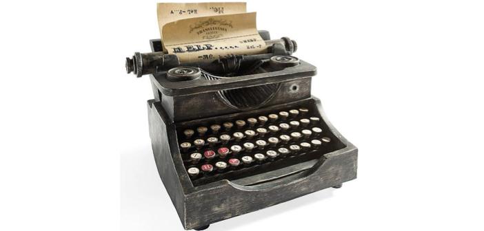 Spooky Halloween Decor: Animated Haunted Typewriter