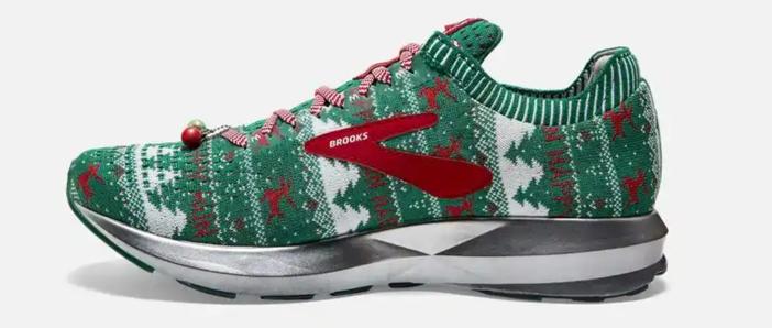 Running Shoe Christmas Ornament