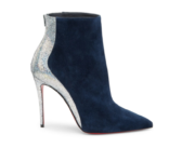 Shoe of the Day: Christian Louboutin Delicotte 100 Leather & Suede Booties
