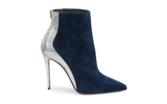 d61d568f1e4 Shoe of the Day  Christian Louboutin Delicotte 100 Leather   Suede Booties