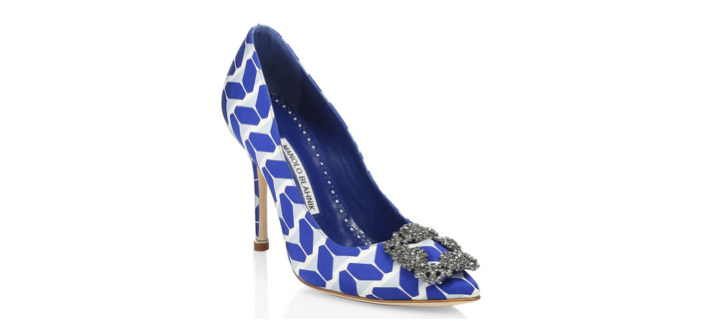 Shoe of the Day: Manolo Blahnik Hangisi Pump