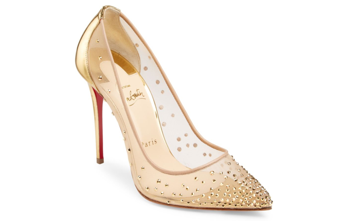 d269131db1f Shoe of the Day: Christian Louboutin Follies Strass 100 Illusion ...