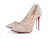Shoe of the Day: Christian Louboutin Follies Lace Pump