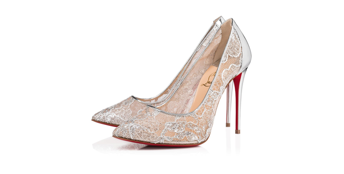 0724195eb49 Shoe of the Day  Christian Louboutin Follies Lace Pump