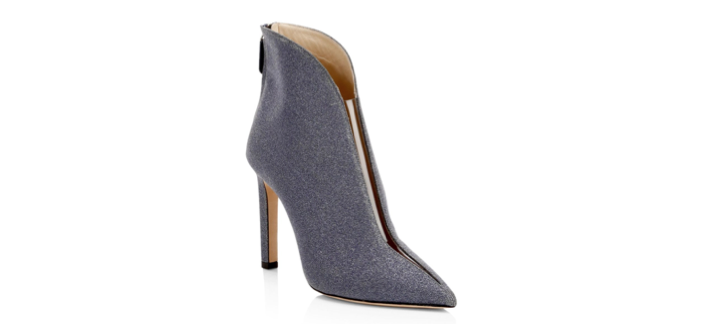 Shoe of the Day: Jimmy Choo Bowie 100 Glitter Stiletto Booties