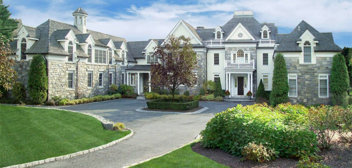 Estate of the Day: $8.9 Million Country Georgian Mansion in Greenwich, Connecticut