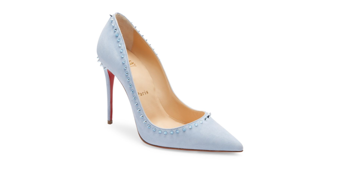 cheap for discount 5f9b5 28f6c Shoe of the Day: Christian Louboutin Anjalina 85 Suede Pumps