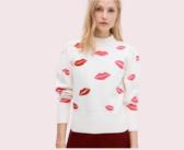 Kate Spade New York Lips Mockneck Sweater