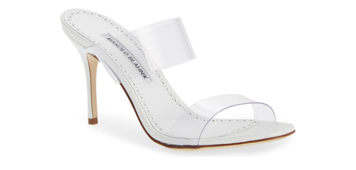 Shoe of the Day: Manolo Blahnik Scolto Transparent Strap Sandal