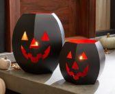 Iron Pumpkin Lanterns Will Make Your Pathways Glow This Halloween